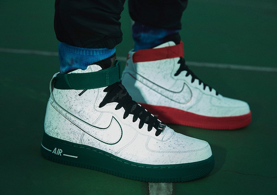 Nike China Hoop Dreams Air Force 1 High Release Date Info
