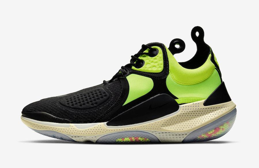 Nike Joyride NSW Setter Black Neon Green AT6395-002 Release Date Info