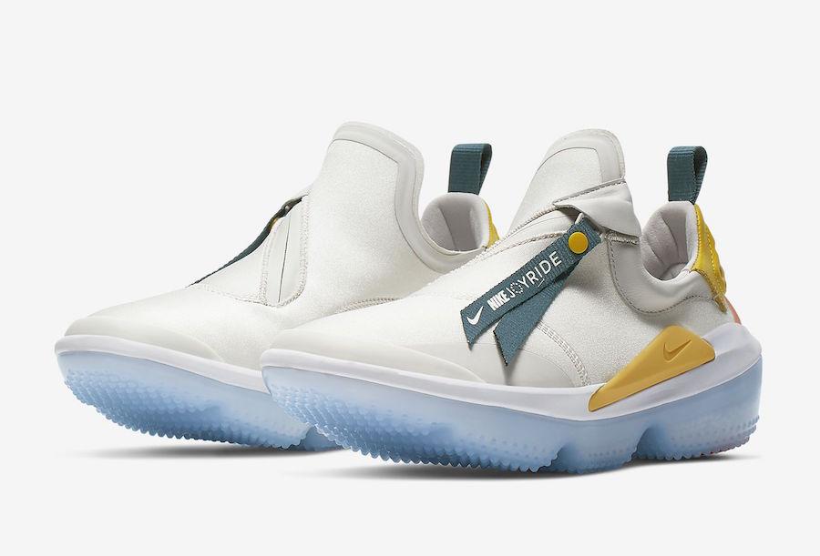 Nike Joyride Optik Vast Grey Topaz Gold Bright Citron AJ6844-006 Release Date Info | SneakerFiles