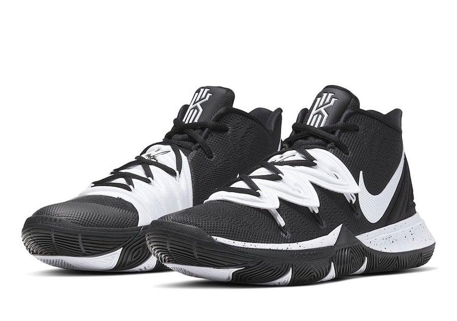 Nike Kyrie 5 TB Team Bank Black White Release Date Info