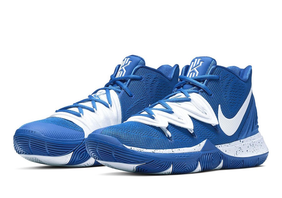 Nike Kyrie 5 TB Team Bank Blue White Release Date Info