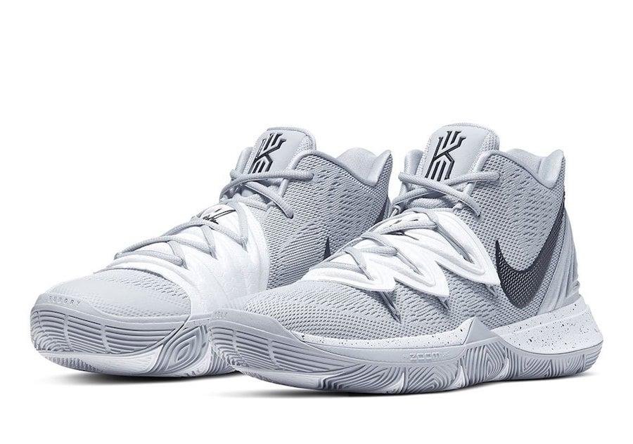 Nike Kyrie 5 TB Team Bank Grey Release Date Info