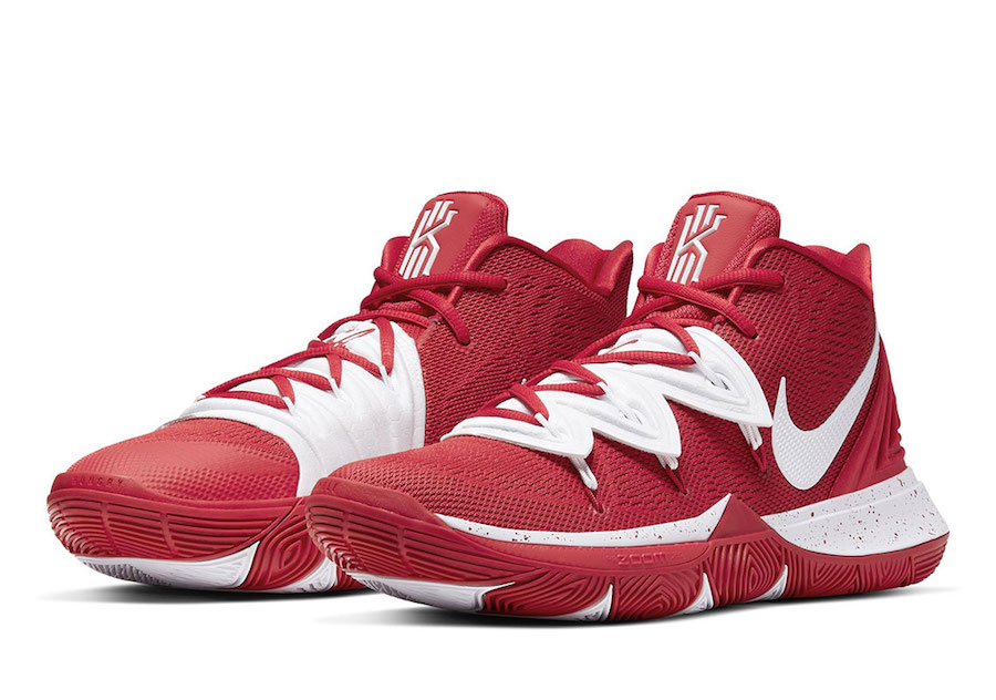 Nike Kyrie 5 TB Team Bank Red White Release Date Info