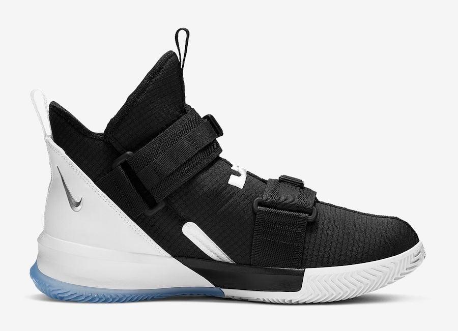 Nike LeBron Soldier 13 Black Chrome AR4225-001 Release Date Info