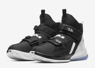 Nike LeBron Soldier 13 Black Chrome AR4225-001 Release Date Info