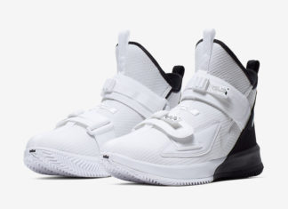 Nike LeBron Soldier 13 White Black AR4228-100 Release Date Info