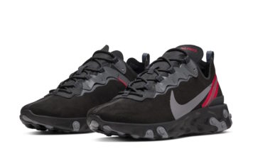 Nike React Element 55 Black Suede Release Date Info