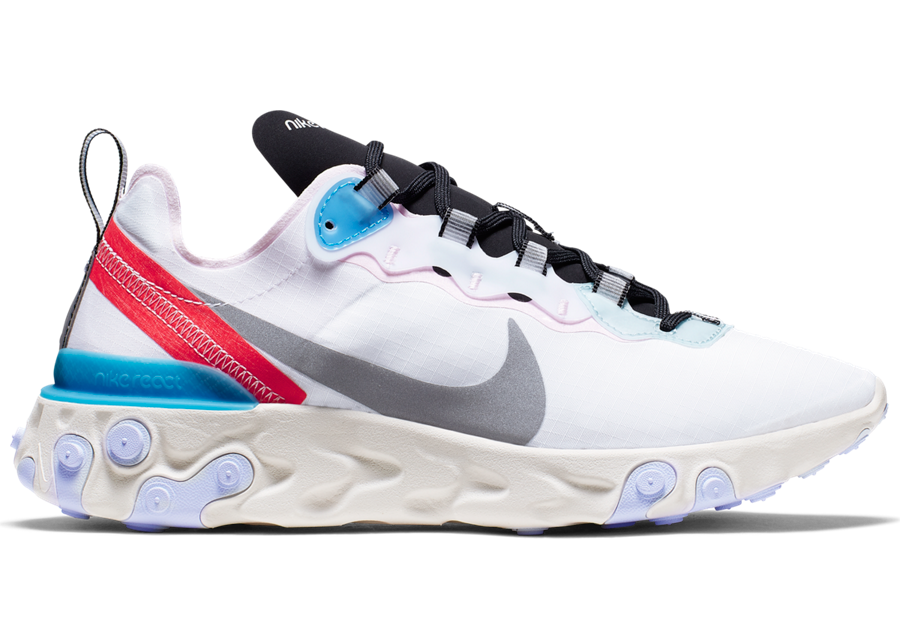 Nike React Element 55 Blue Hero CK4462-100 Release Date Info