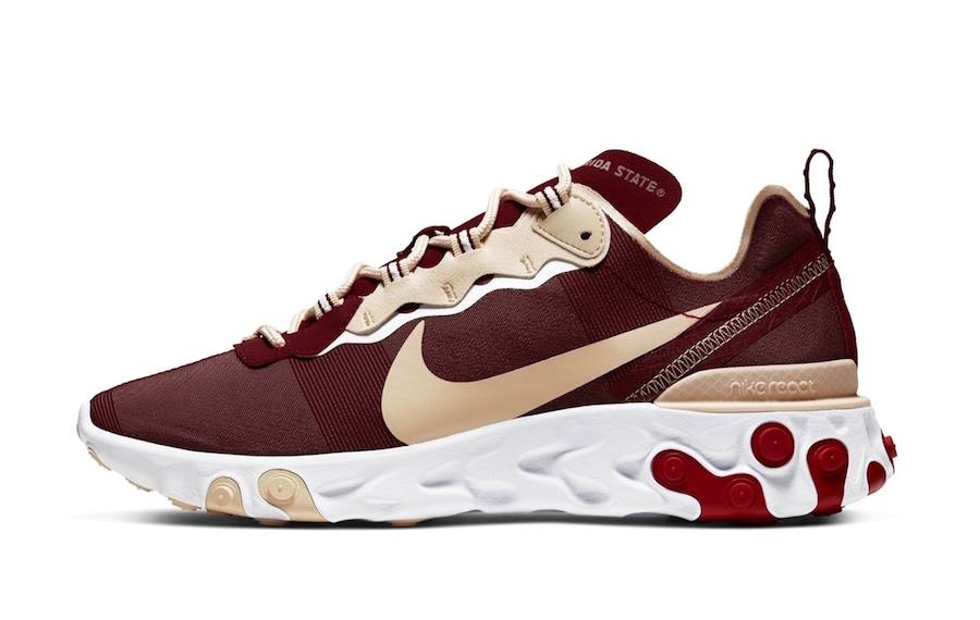 Nike React Element 55 Florida State Release Date Info