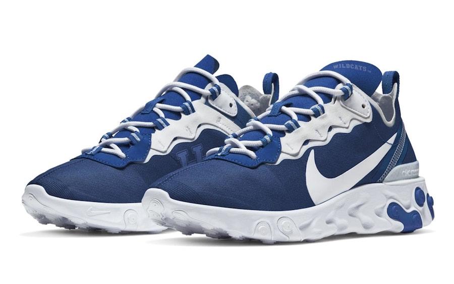 Nike React Element 55 Kentucky Wildcats Release Date Info