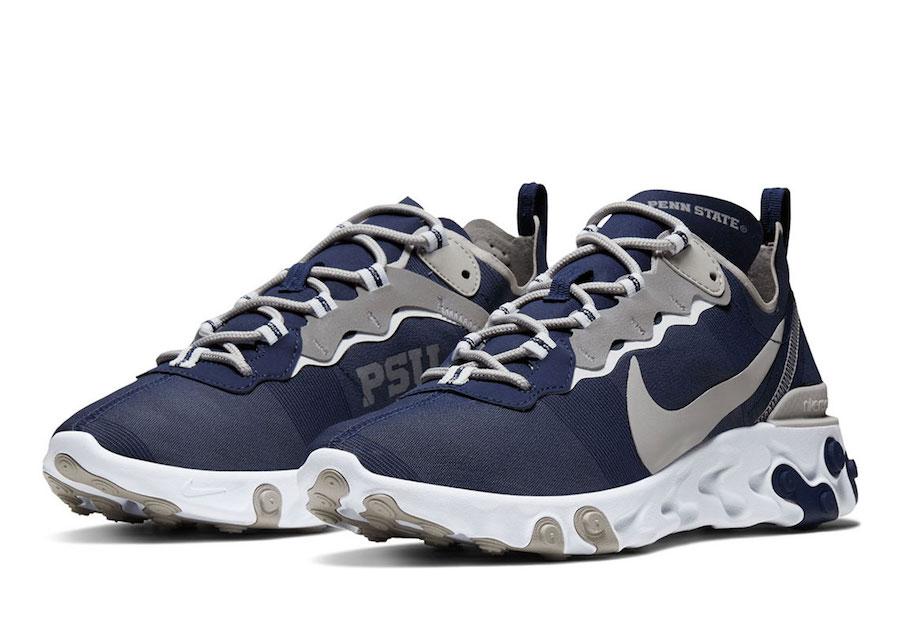 Nike React Element 55 Penn State Release Date Info