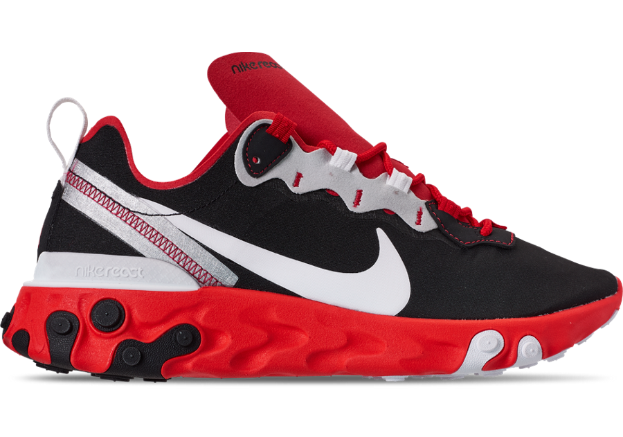 Nike React Element 55 Red Orbit Bright Crimson CQ9705-001 Release Date Info
