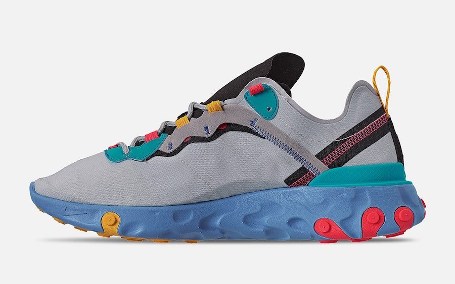 Nike React Element 55 Teal Nebula CQ9705-002 Release Date Info
