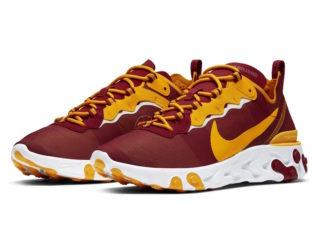Nike React Element 55 USC Trojans Release Date Info