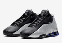 Nike Shox BB4 Black Metallic Silver Purple AT7843-001 Release Date Info