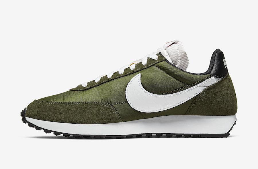 Nike Tailwind Nylon Olive 487754-302 Release Date Info