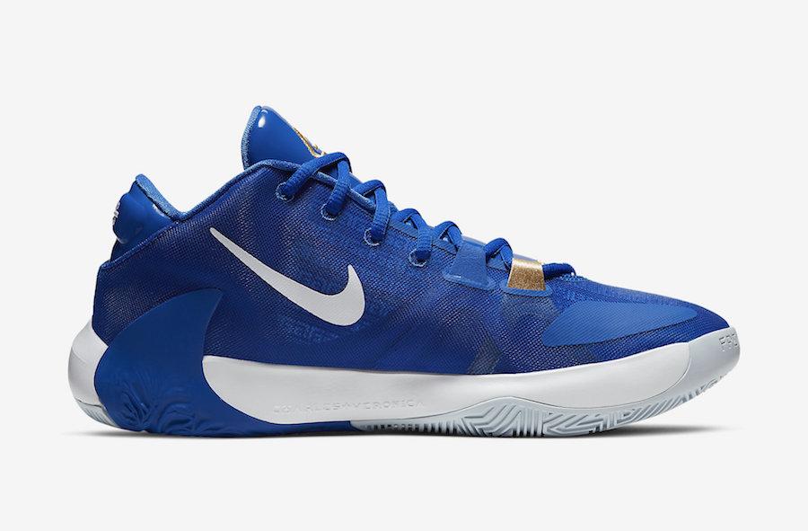 Nike Zoom Freak 1 Greece Photo Blue BQ5422-400 Release Date Info