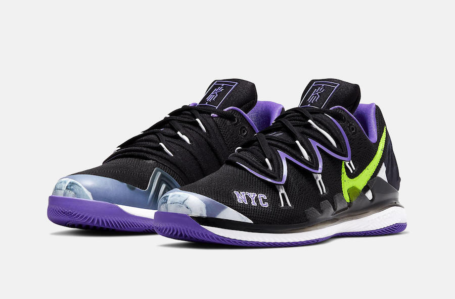 NikeCourt Air Zoom Vapor X Kyrie 5 NYC Release Date Info