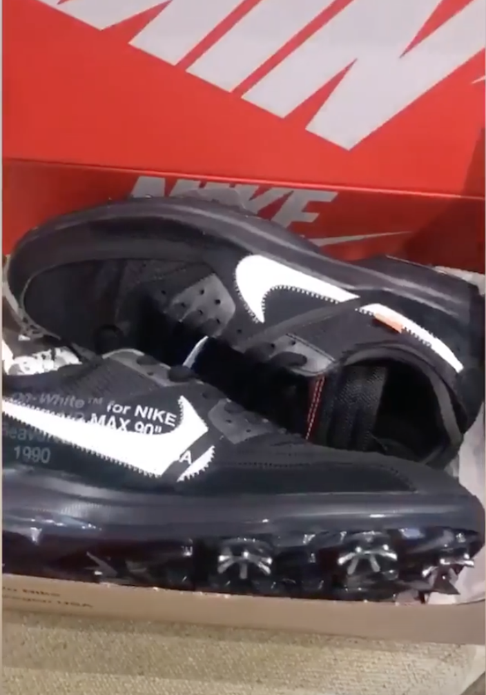 Off-White Nike Air Max 90 Golf Shoe Release Info