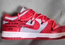 Off-White Nike Dunk Low University Red CT0856-600 Release Date