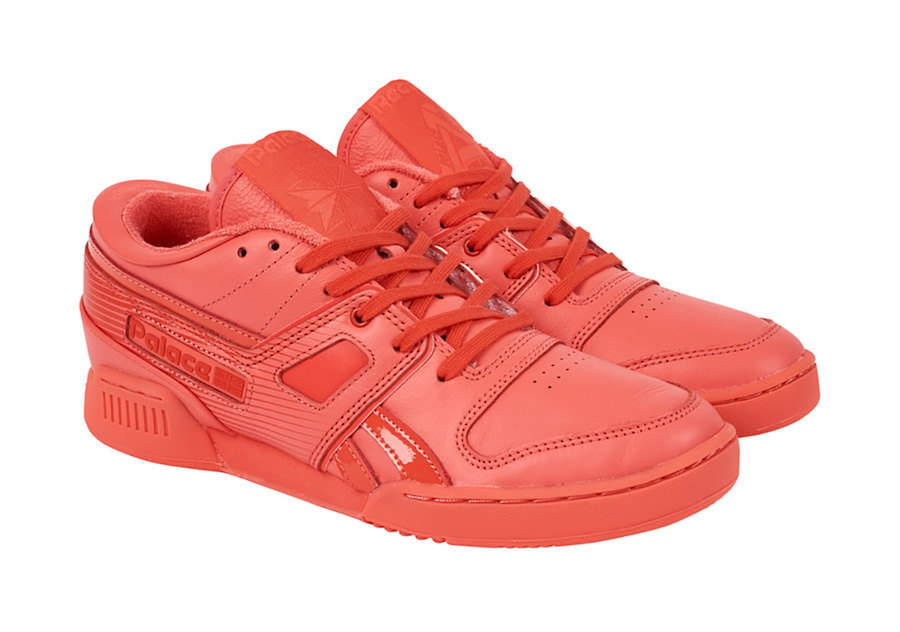 Palace Skateboards Reebok Pro Workout Low Red Release Date Info