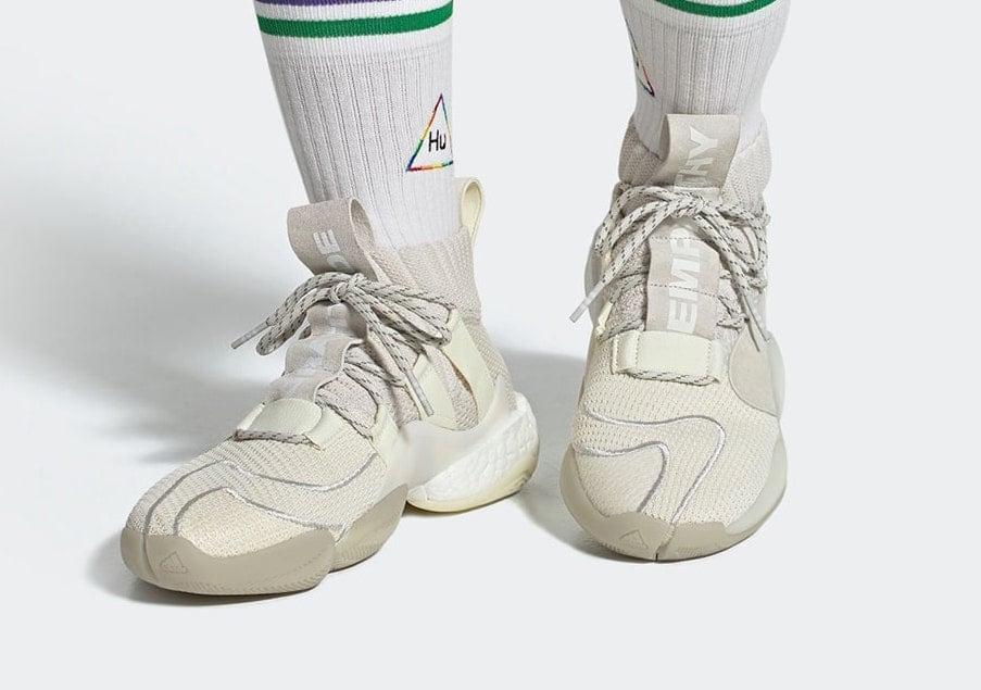 Pharrell adidas Crazy BYW X Cream White EG7727 Release Date Info