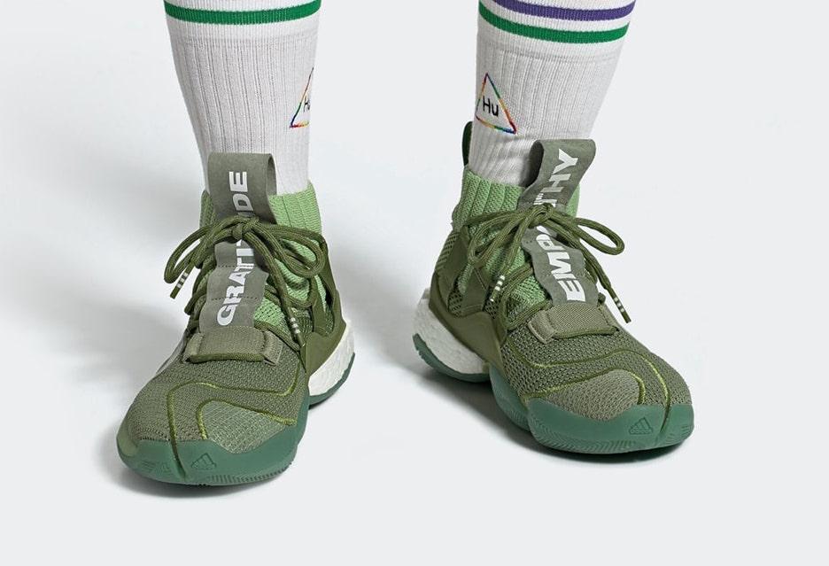 Pharrell adidas Crazy BYW X Green EG7729 Release Date Info