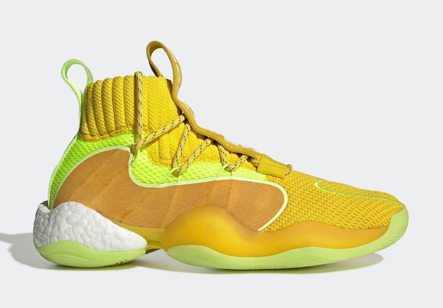 Pharrell adidas Crazy BYW X Yellow EG7724 Release Date Info