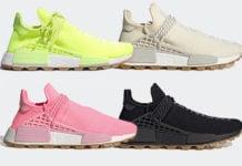 Pharrell adidas NMD Hu Gum Pack 2019 Release Date Info