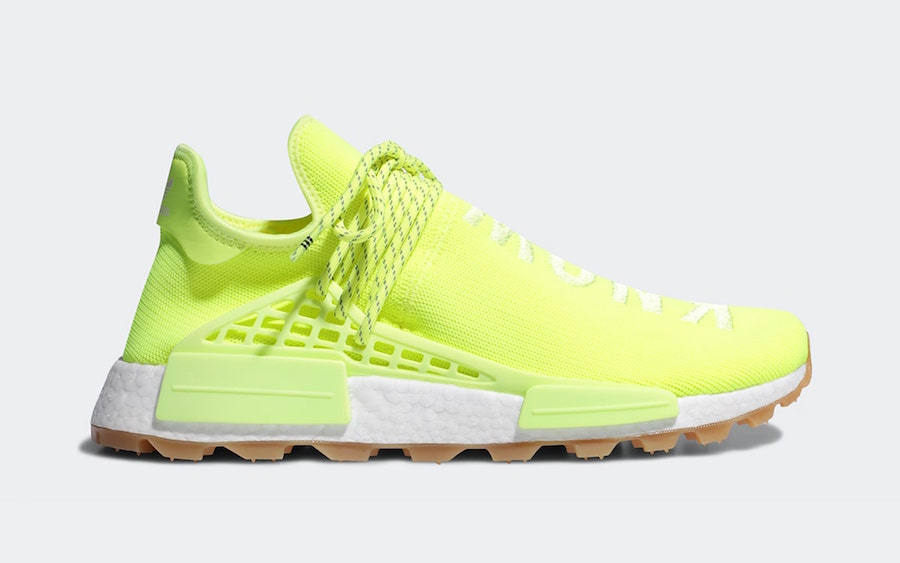 Pharrell adidas NMD Hu Solar Yellow EF2335 Release Date