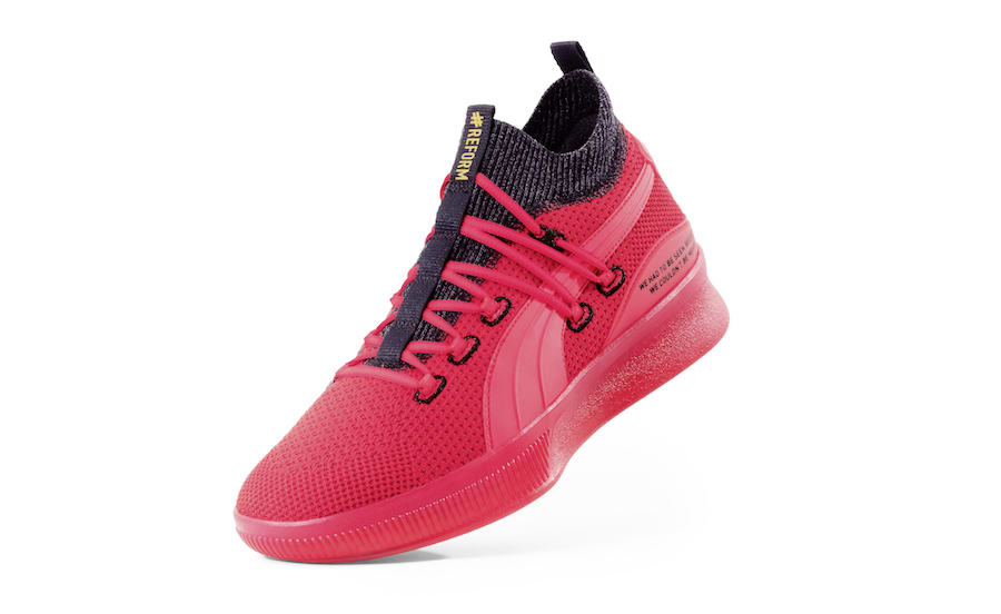 Puma Clyde Court Reform Red Black Meek Mill Release Date Info