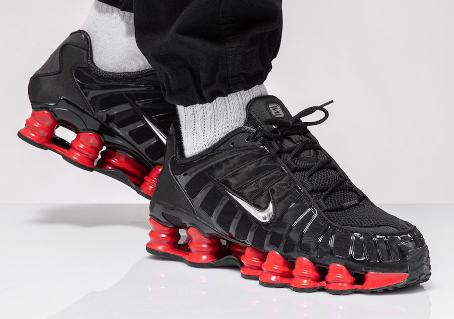 Skepta Nike Shox TL Black University Red CI0987-001 Release ...