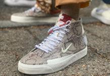 Soulland Nike SB Blazer Mid Snakeskin Release Date Info