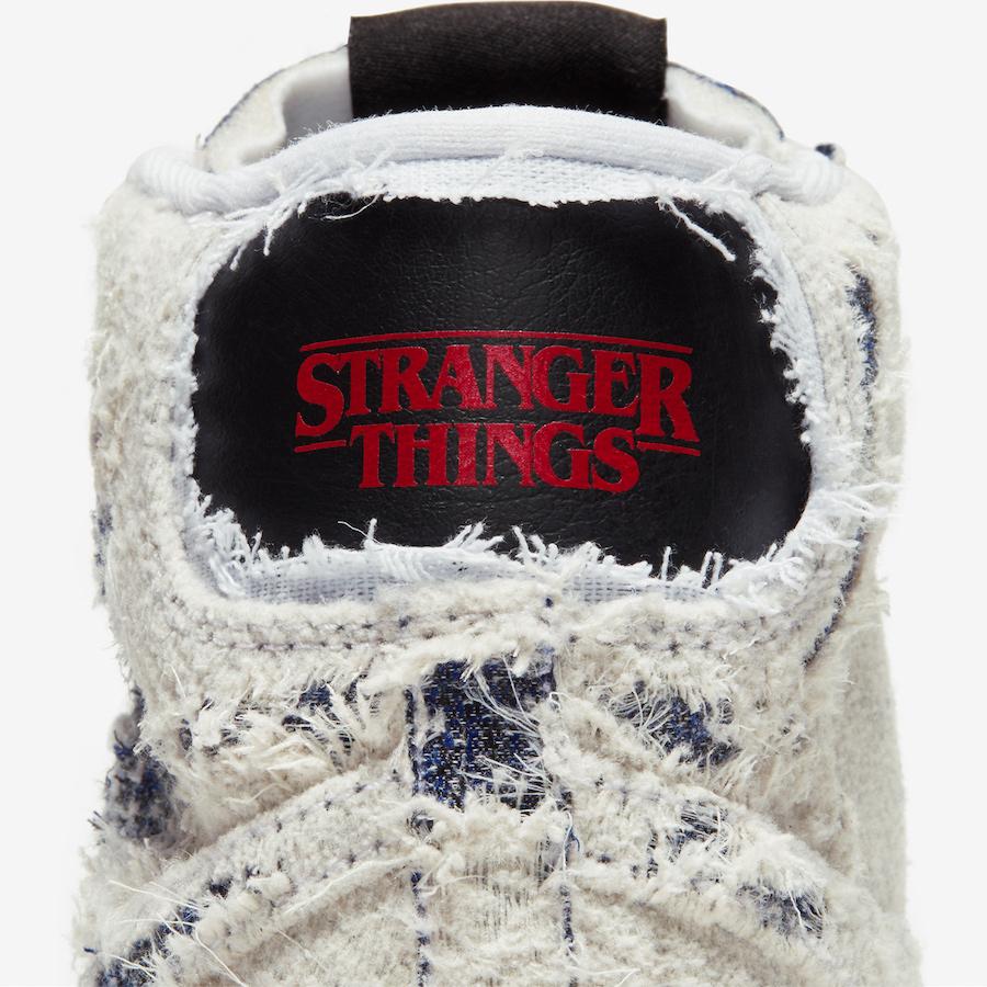 Stranger Things Nike Blazer Mid Upside Down CJ6102-100 Release Date