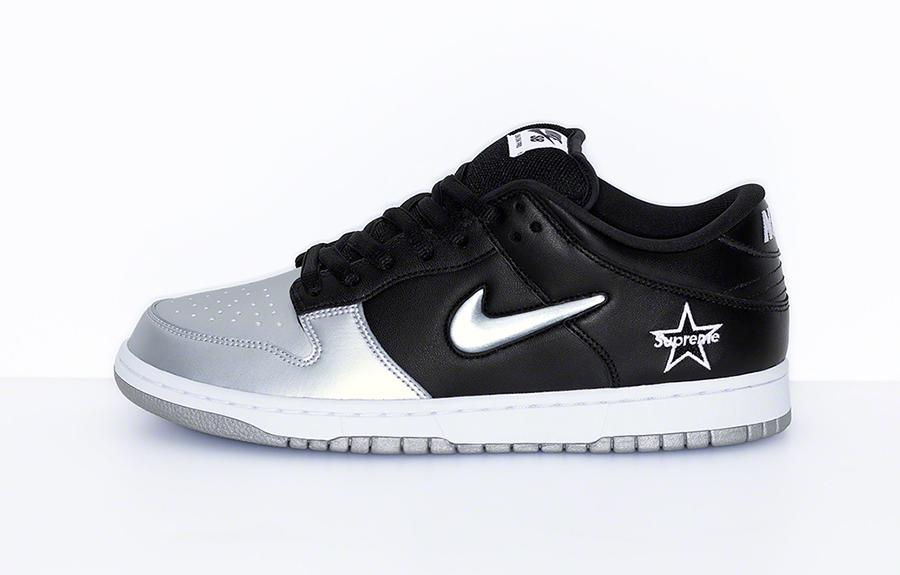 Supreme Nike SB Dunk Low Metallic Silver CK3480-001 Release Date