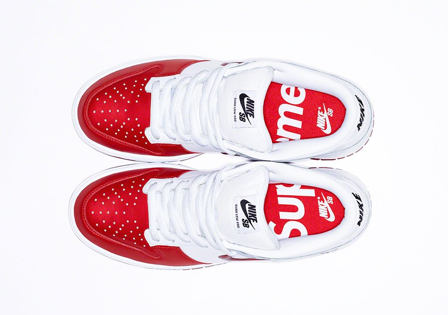 Supreme Nike SB Dunk Low Varsity Red CK3480-600 Release Date