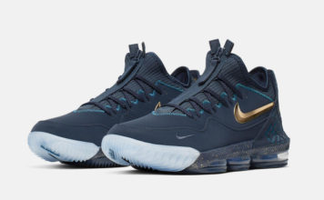 Titan Nike LeBron 16 Low Agimat CJ9919-400 Release Date