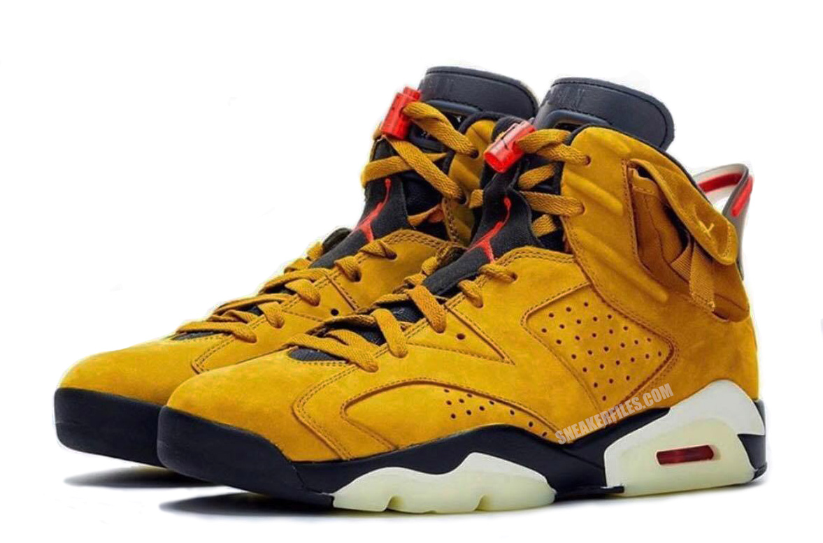 Travis Scott Air Jordan 6 Yellow Cactus Jack Release Date Info | SneakerFiles