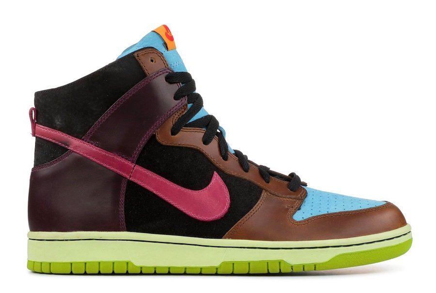 Undefeated Nike Dunk High 2005