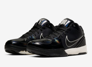 Undefeated Nike Kobe 4 Protro Black Mamba CQ3869-001 Release Date Info
