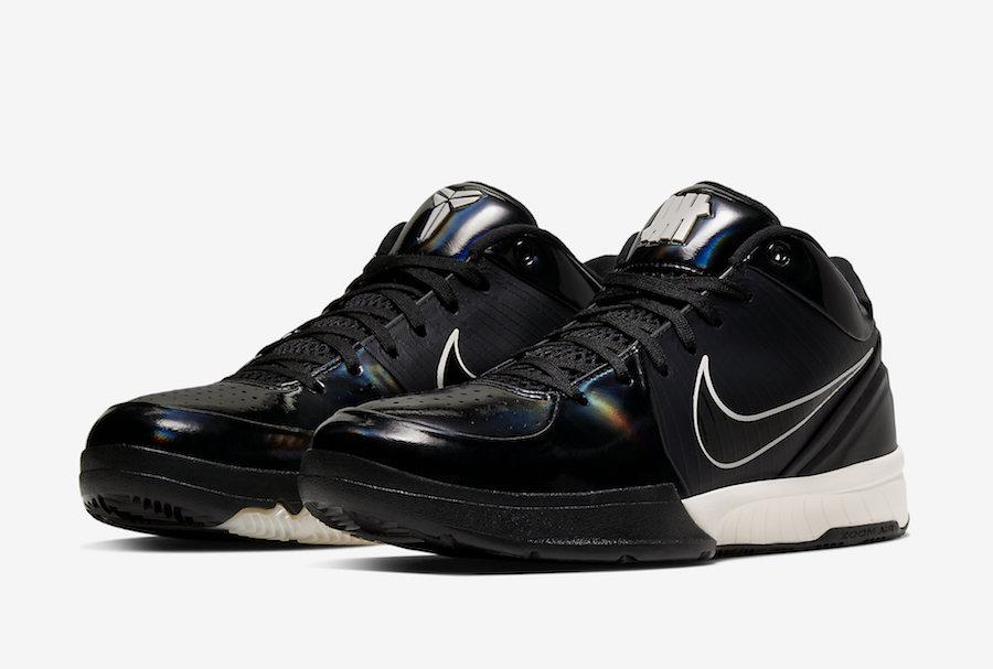 Undefeated Nike Kobe 4 Protro Black Mamba CQ3869-001 Release Date Info