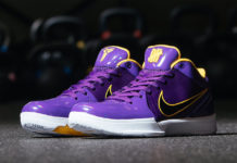 Undefeated Nike Kobe 4 Protro Lakers Kyle Kuzma CQ3869-500 Release Date Info