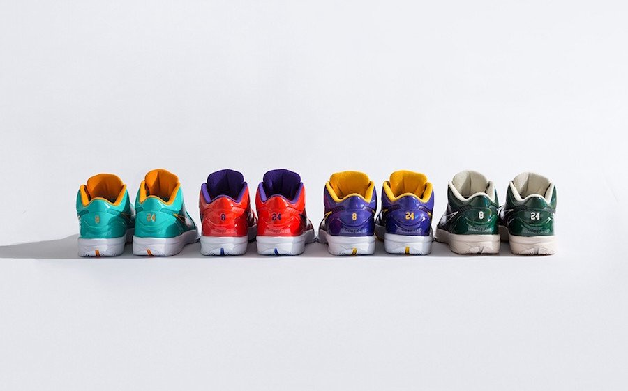Undefeated Nike Kobe 4 Protro Release Date Info
