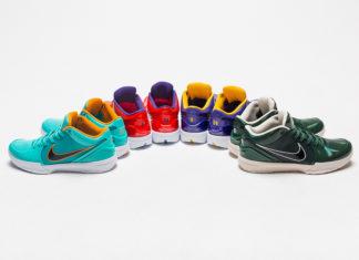 Undefeated Nike Kobe 4 Protro Release Date Info