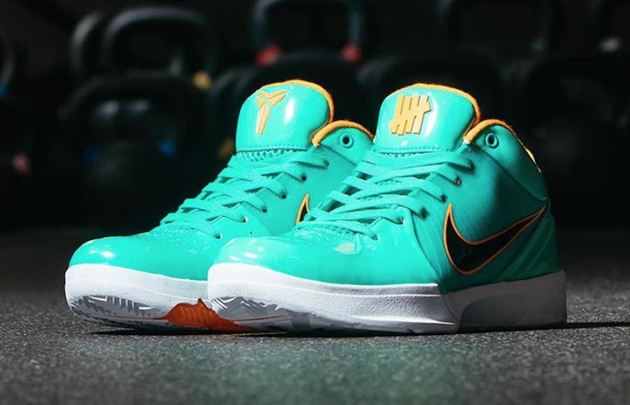 Undefeated Nike Kobe 4 Protro Spurs DeMar DeRozan CQ3869-300 Release Date