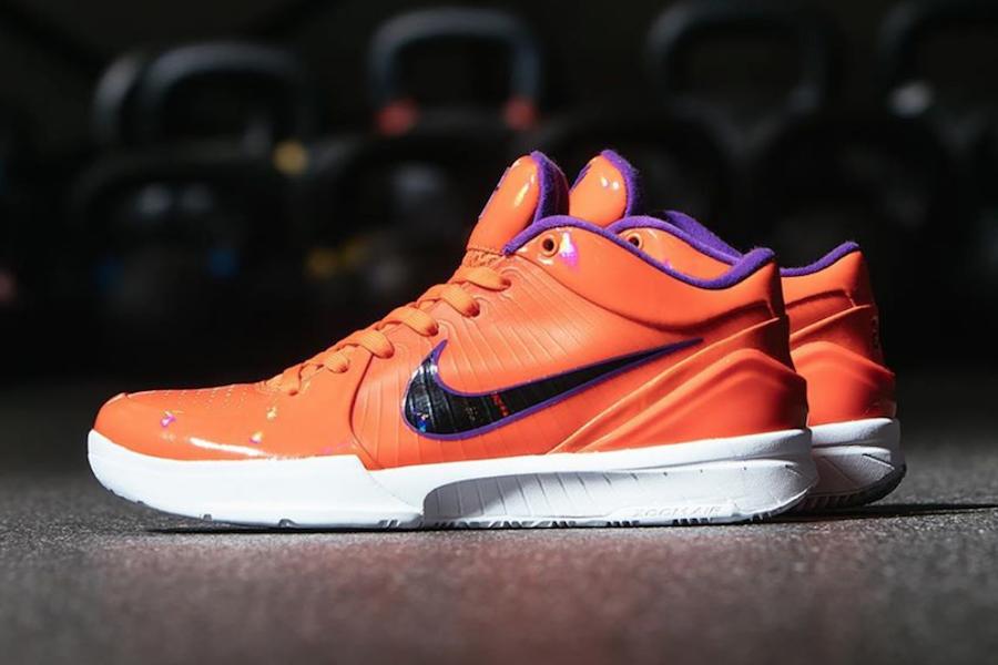 Undefeated Nike Kobe 4 Protro Suns