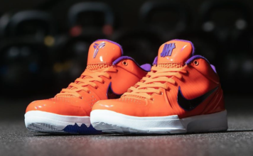 Undefeated Nike Kobe 4 Protro Suns Devin Booker CQ3869-800 Release Date