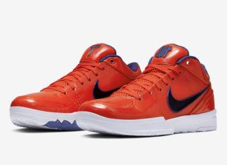 Undefeated Nike Kobe 4 Protro Suns Devin Booker CQ3869-800 Release Date Info