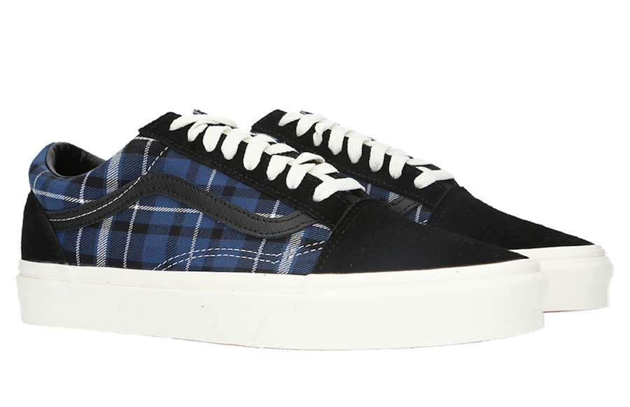 Vans Old Skool Plaid Mix Release Date Info