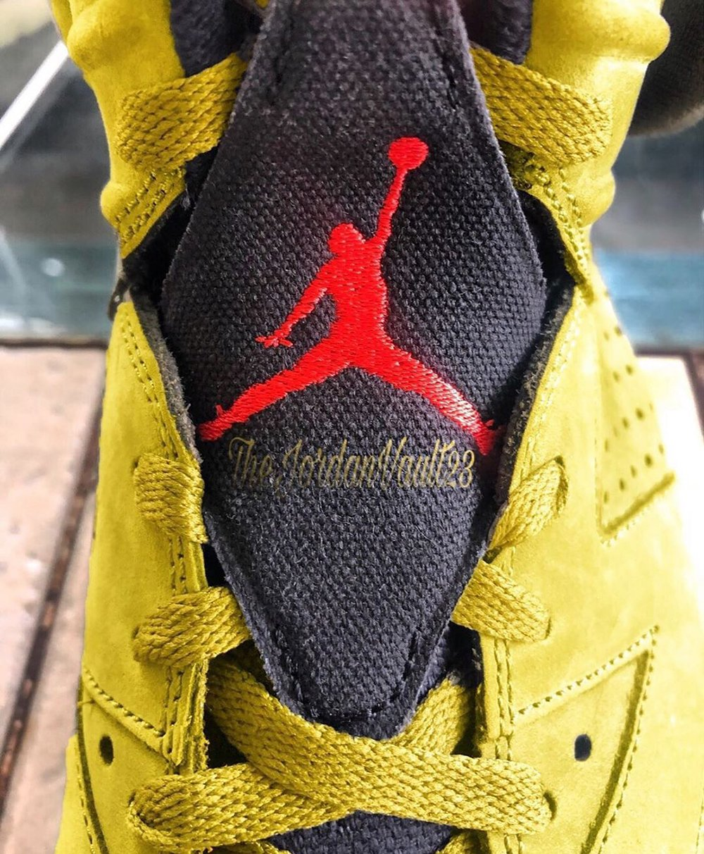 Yellow Cactus Jack Travis Scott Air Jordan 6